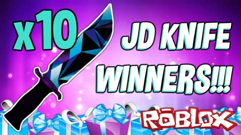 Did You Win The Jd Knife?! (giveaway Winners)