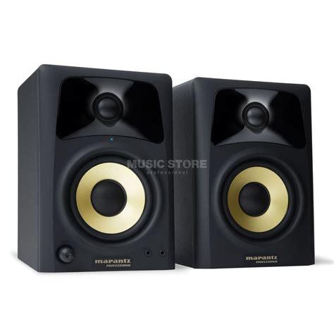 2 wege lautsprecher marantz studio scope 4 desktop lautsprecher 2 wege store professional