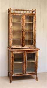 Bookcases With Cabinets by Bamboo Cabinet Bookcase Antiques Atlas