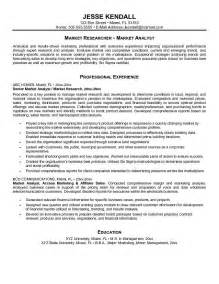 analyst resume objective statement marketing analyst resume objective sles resumes design