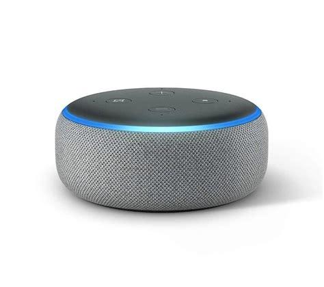 echo dot buy echo dot 2018 grey free delivery