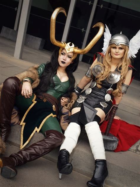 Lady Loki And Lady Thor I Wanna Be Lady Loki Or Is That