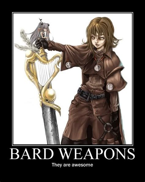 D D Bard Memes - bards does this one strike the right chord hit a high note roleplay memes pinterest