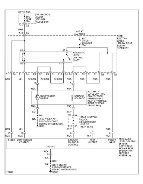 auto wiring diagram  buick park avenue ultra