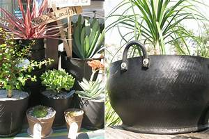 Cool Planters Made from Recycled Tires Inhabitat - Green