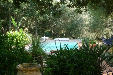 linge de maison fourni maison d hotes en corse jardins gite bonifacio