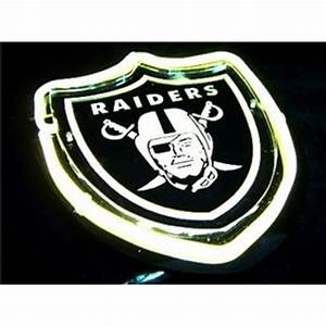 NFL Oakland Raiders Neon Sign Raider Love