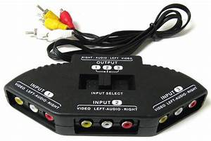 Jual Gadget  Rca Switcher