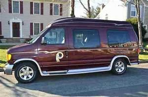 Buy Used 2004 Ford La West Burgundy Conversion Van With