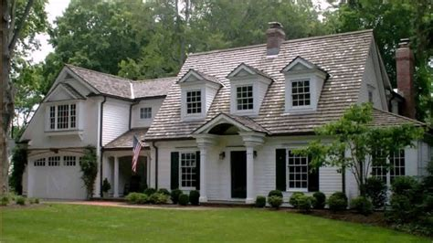 Cape Cod Style House Dormers