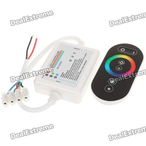 cheap wireless touch panel remote controller for rgb led