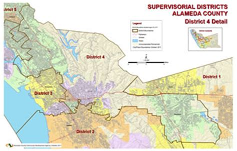 district  map board  supervisors alameda county