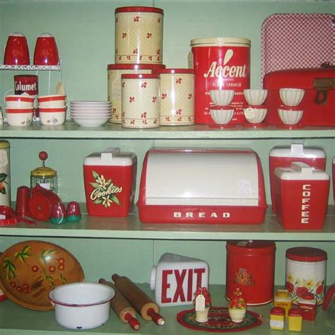 vintage kitchen collectibles lustro ware for your retro kitchen pinup antiques
