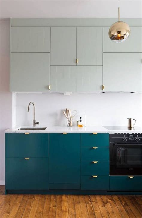 Teal Green Kitchen Cabinets by 1000 Ideas About Mint Kitchen On Kitchens