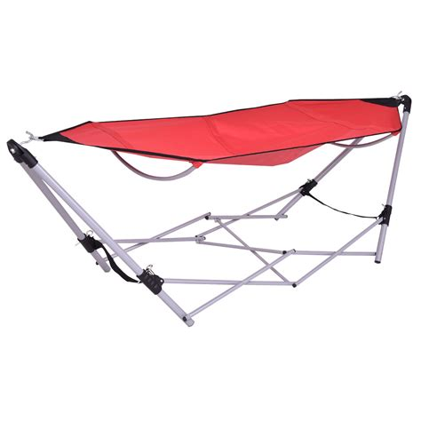 portable folding hammock portable folding hammock lounge cing bed steel
