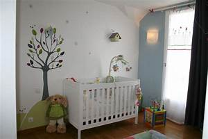 idee peinture chambre bebe mixte kirafes With peinture chambre bebe mixte