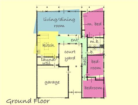 small courtyard house plans small house plans with interior courtyard home deco plans