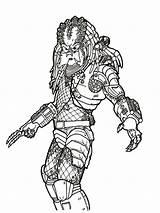 Predator Coloring Ausmalbilder Boys Malvorlagen Zum sketch template