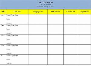 weekly lesson plans in math for kindergarten new With weekly activity planner template