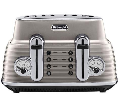 delonghi 4 slice toaster buy delonghi scultura ctz4003bg 4 slice toaster