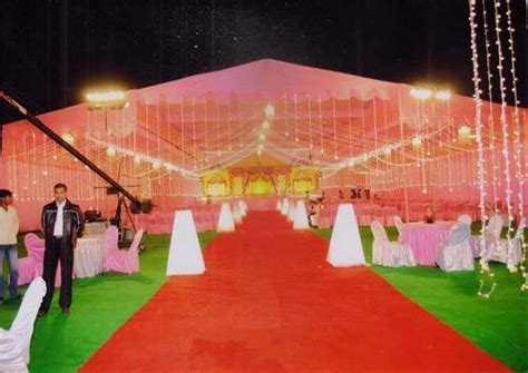 wedding tent decoration service  narhi lucknow royal