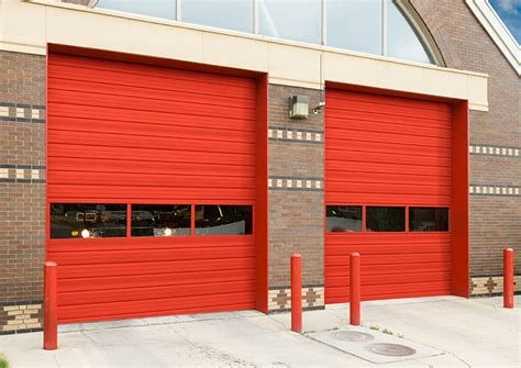 commercial garage door with door commercial