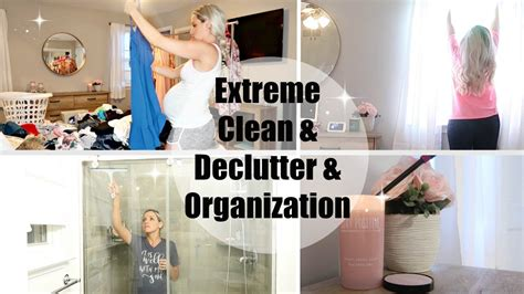 Deep Clean, Declutter, And Organize With Me // Closet, Bedroom, & Master Bathroom 2018