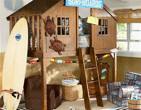 10 Fabulous Boys' House Beds
