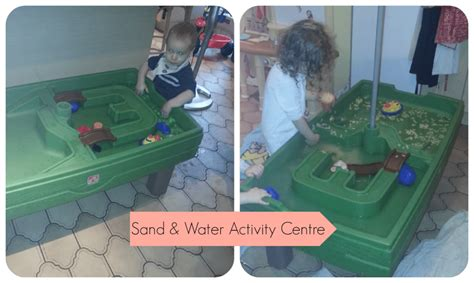 play day sand and water activity table getting summer ready step2 sand water activity centre