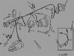 John Deere 40 Wiring Harnes