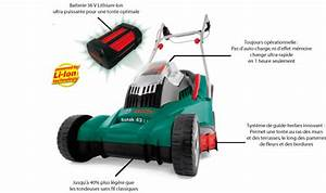 Tondeuse À Gazon Sur Batterie : tondeuse sur batterie ~ Carolinahurricanesstore.com Idées de Décoration