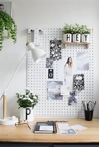 Fashion 4 Home : am nagement d 39 un petit espace de travail le bureau style scandinave ~ Orissabook.com Haus und Dekorationen