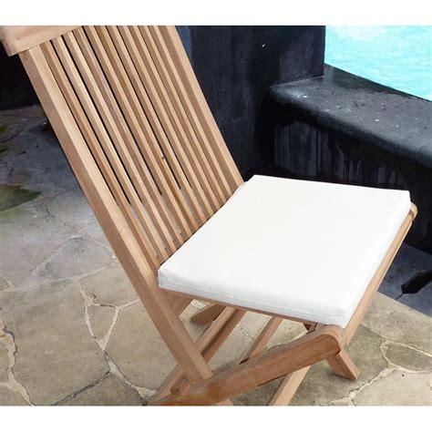 coussins chaises coussins de chaise et fauteuils en teck