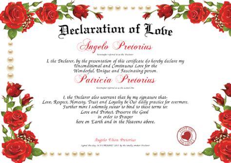 Love Certificate Templates Costumepartyrun