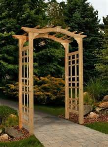 patio arbor new england arbors decorative westwood cedar garden patio arch trellis lattice ebay