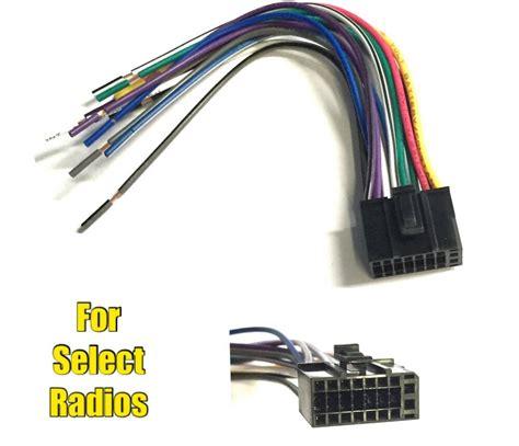 car stereo radio wire harness plug  dual dvdn