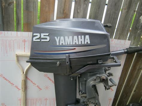Yamaha Outboard Motor Parts Perth by For Sale 25hp Yamaha Outboard Motor