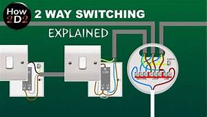 2 Way Switching Explained How To Wire 2 Way Switches