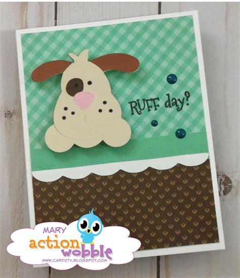 action wobbles card