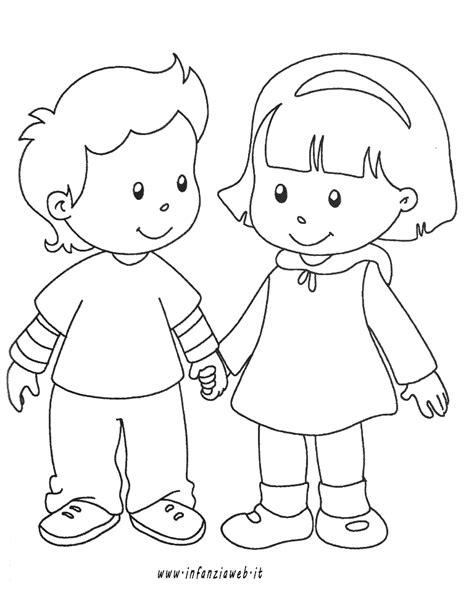 disegni di bambini abusati girotondo di bambini da colorare az colorare
