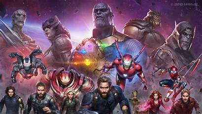 Marvel Avengers Infinity War Future Artwork 1080p