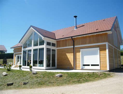 grande maison en bois maison moderne