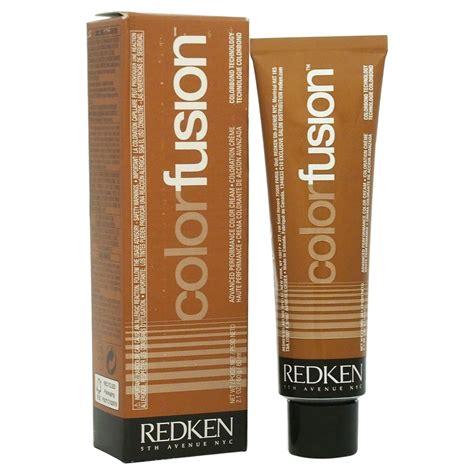 redken color fusion color creme natural fashion gr goldred   women  oz hair color