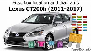 Fuse Box Location And Diagrams  Lexus Ct200h  2011