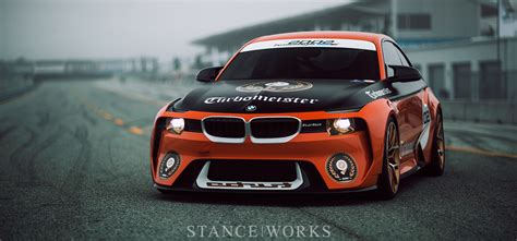 Bmw 2002 Stance by Quot Turbomeister Quot The Bmw 2002 Hommage Concept Stanceworks