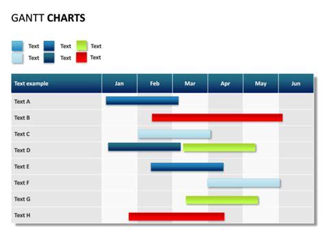 gantt chart powerpoint template business