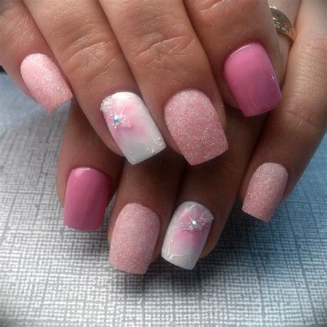short square acrylic nail designs