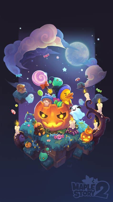 Halloween Wallpaper Official Maplestory 2 Website