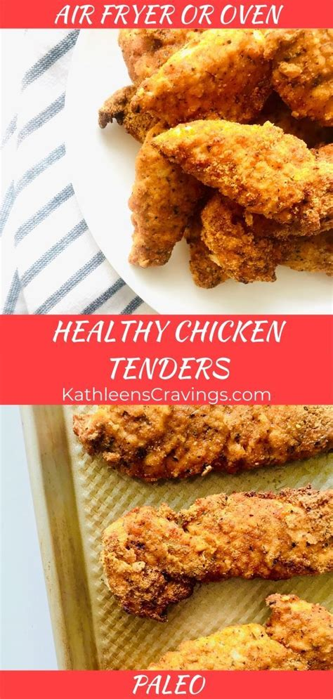 chicken fryer air tenders oven healthy recipe recipes flour easy