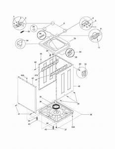 Frigidaire Fex831fs2 Laundry Center Parts